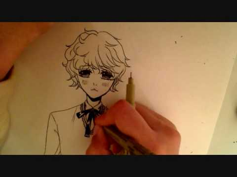 Cute Anime Boy Drawings Drawing a Cute Anime/manga Boy