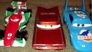 My cars 2 collection Disney Pixar 2013 كارز سيارات