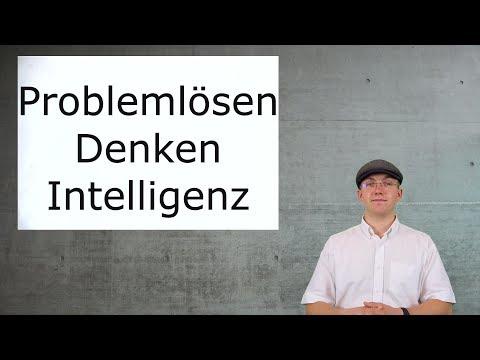 Aufnahmetest Psychologie - Lernvideos: Problemlösen, Denken, Intelligenz
