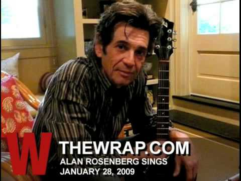 Alan Rosenberg sings the blues