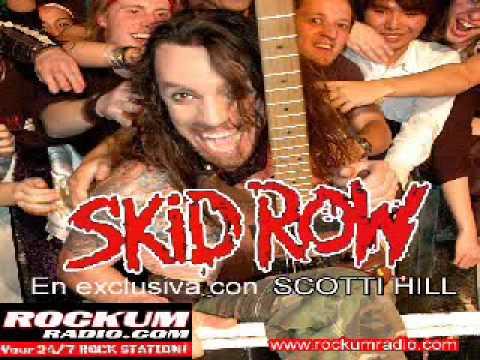 Skid Row - Scotti Hill entrevista exclusiva con Gino Alache - Rockum Radio.com