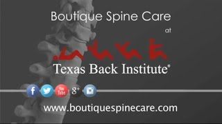 Texas Back Institute | Boutique Spine Care