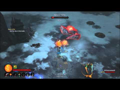 Diablo 3: 5 Legendary drops, 5 minutes (PS3)