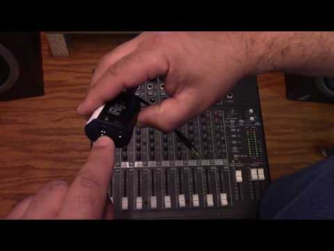 Using the Mevo with a Mixer + iRig2