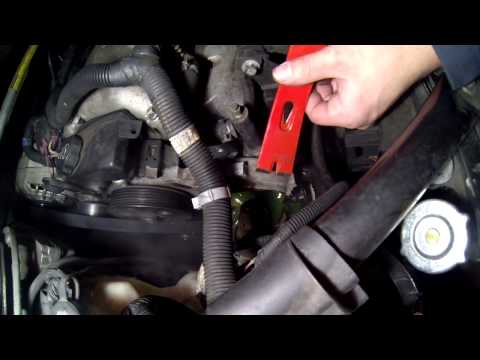 How to replace a 2002 Pontiac Montana Water Pump