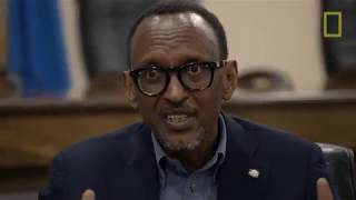 Full movie of President Paul Kagame with Morgan Freeman (french subtitles)