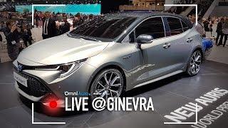 Nuova Toyota Auris, arriva il 2.0 ibrido   Salone di Ginevra 2018