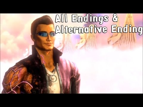 Saints Row: Gat out of Hell - All Endings & Alternative Endings [HD]