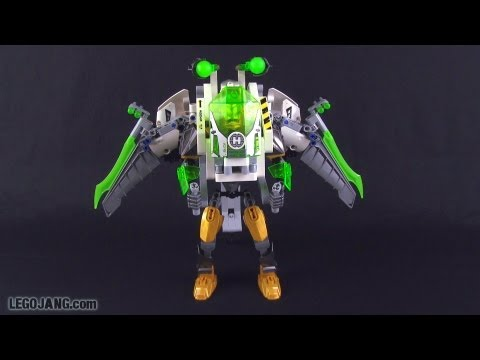 LEGO Hero Factory Jet Rocka review! Brain Attack wave 2
