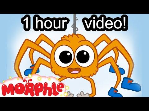 Itsy Bitsy Spider Song (or Incy Wincy Spider) Nursery Rhyme With Actions - My Magic Pet Morphle video