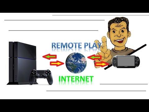 Solución Problema de Remote Play del PlayStation 4 con PSVita vía internet (fuera de casa)