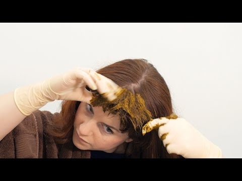 How to apply LUSH Henna Hair Dye