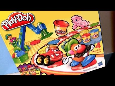 Board Game With Play Doh Play Doh Toy Time Race Game