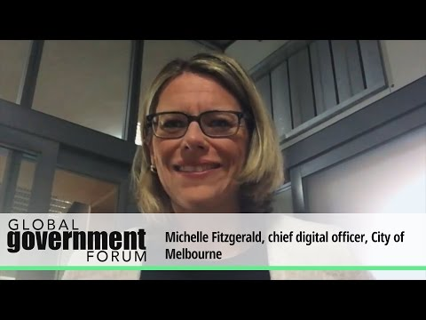 Michelle Fitzgerald, chief digital officer, City of Melbourne