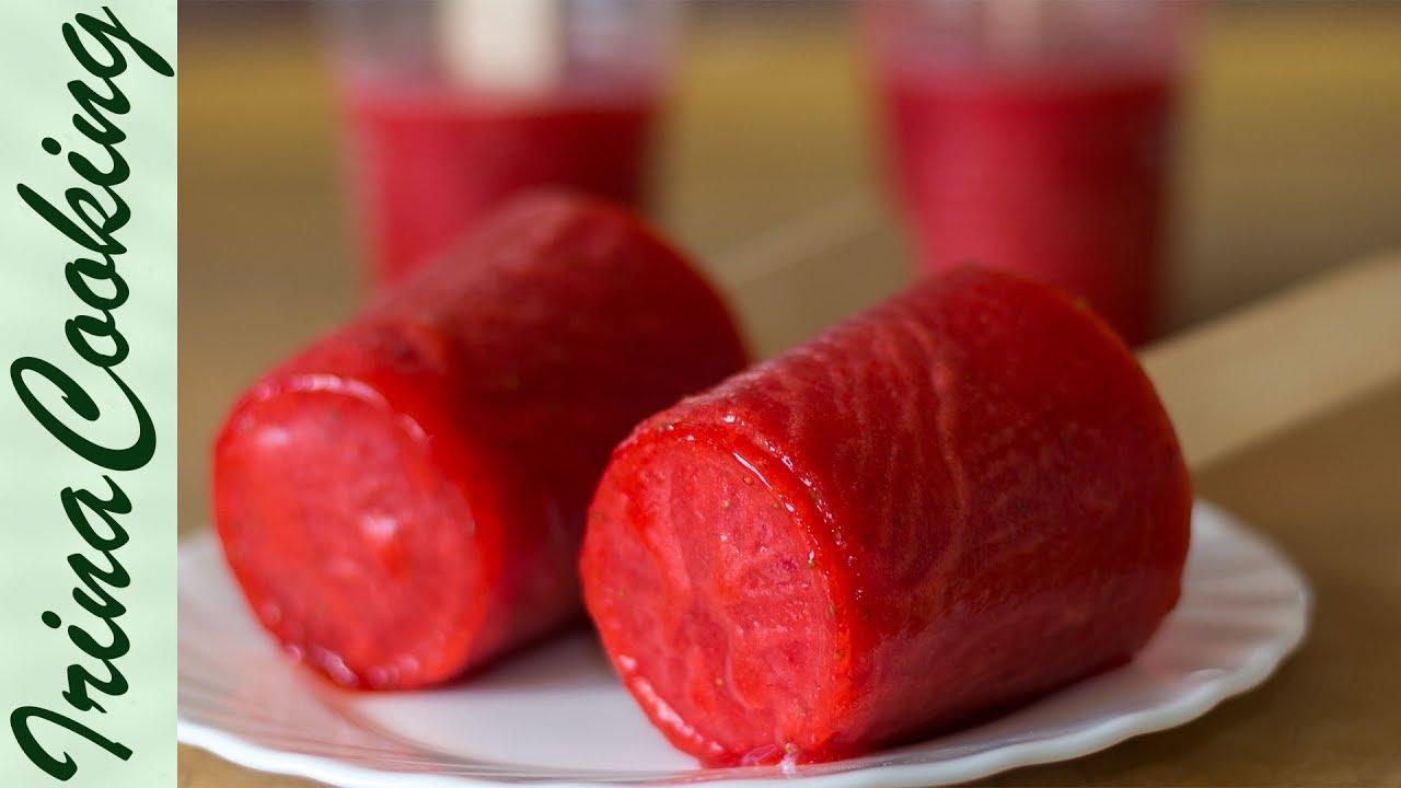 Рецепты как сделать мороженое фруктовый лед 513