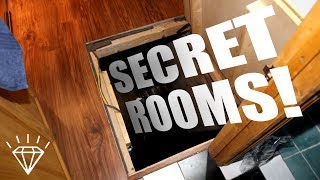 10 Bizarre Secret Rooms Found in People's Homes