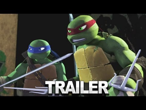 Teenage Mutant Ninja Turtles 2012 TV Series - Trailer