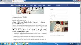 Shiness: The Lightning Kingdom PC Game Download For Free | Link in Description