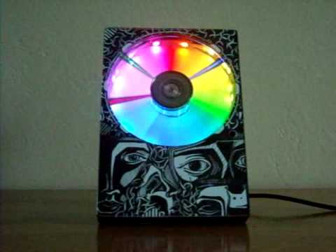 HDDClock - Hard Drive Clock