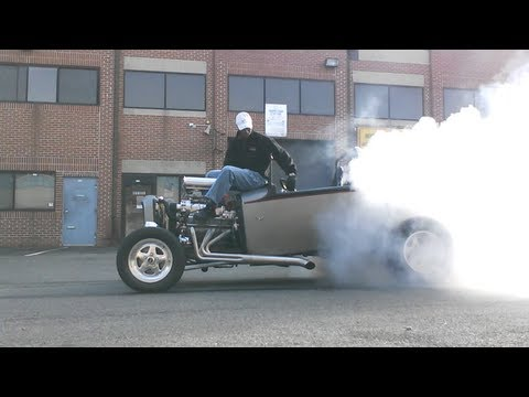 INSANE engine seated burnout! How to Tame your Hot Rod