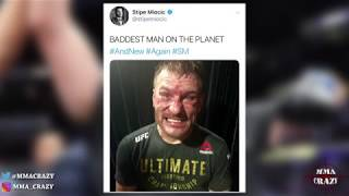 MMA Pros React to Stipe Miocic TKO Daniel Cormier at UFC 241