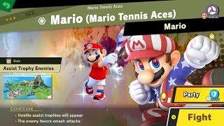 132. Mario Mario Tennis Aces - Fair Spirit Battle - Super Smash Bros. Ultimate