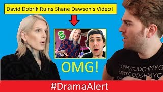 David Dobrik ruins Shane Dawson 's Jeffree Star Documentary? #DramaAlert Clout Gang (FOOTAGE)