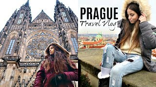 FIRST DAY IN PRAGUE! Meeting Camie, Vegan Donuts, Restaurant Opening & Last Day Of Hanukkah!