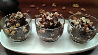 Keto Recipe - Keto / LCHF Nutty Chocolate Avocado Mousse | Keto Desserts
