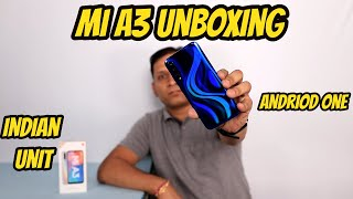 Xiaomi Mi A3 Unboxing Indian Unit I Android One I Super Amoled
