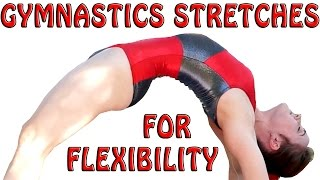 Flexibility Stretches Gymnastics At Home Exercises How To Tutorial & Follow Along Workout Routine