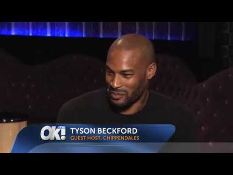 Tyson Beckford Performing At Chippendales
