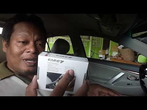 A1 110960 Car7 Bluetooth Car MP3 Music Player SD USB บลูทูธในรถยนต์ เครื่องเสียงในรถยนต์ (สีทอง)