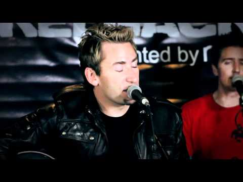 Nickelback- Lullaby (acoustic) video