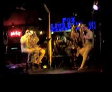 XL Tuba Quartet at BAMBOO BAR – Bangkok