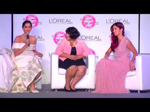 Sonam Kapoor And Katrina Kaif At the  Loreal Cannes Event