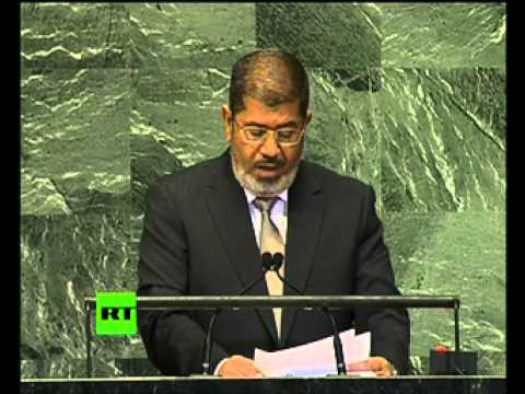 Egypt's Morsi debuts at UN General Assembly (Full speech)