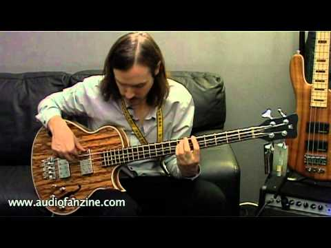 Warwick StarBass Single Cut Video Demo [NAMM 2011]