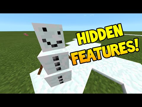 Minecraft Pocket Edition - 0.12.1 Update! - NEW Hidden Features!