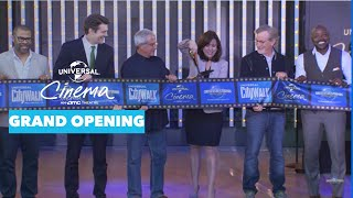 Grand Opening of Universal Cinema at Universal CityWalk