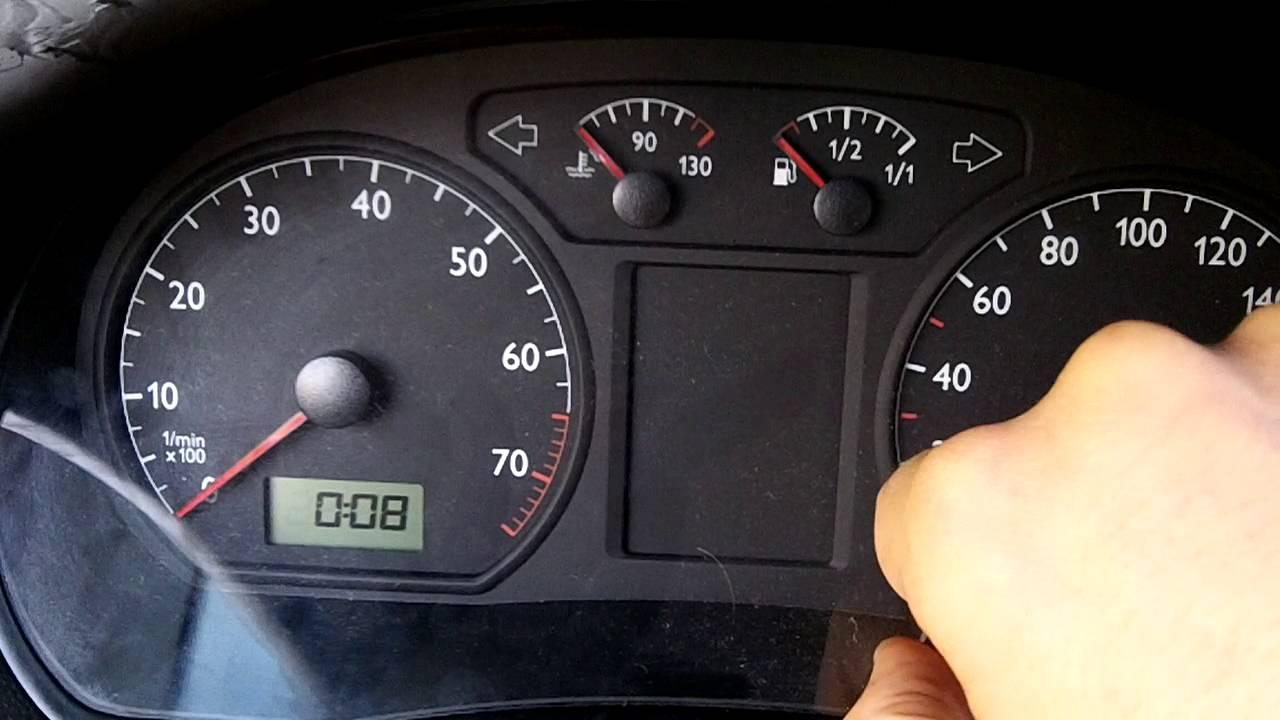 Ajuste De Hora No Relgio Do VW Polo 9N3 Clock Adjustment