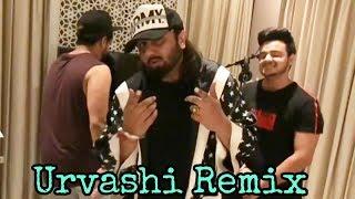 Urvashi Remix Yo Yo Honey Singh Live Singing And Dancing