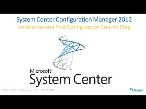 System Center Configuration Manager 2012 Installation and Post Configuration Step by Step