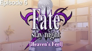 Fate/Stay Night (Heaven's Feel) - Episode 5 [Let's Play]