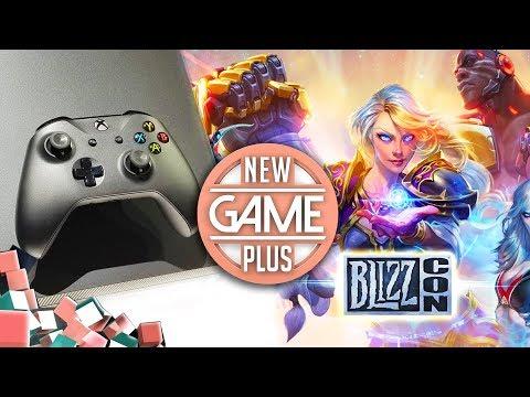 Xbox One X im Test, die Highlights der Blizzcon 2017 & Paris Games Week 2017 | New Game Plus #68