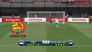Iran - United Arab Emirates • Asian Cup • PES2015 gameplay