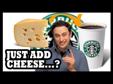 Starbucks Cheese Coffee?! - Food Feeder