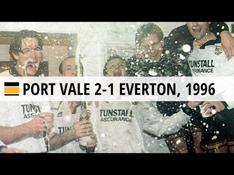 Port Vale 2-1 Everton, FA Cup, 14 Feb 1996