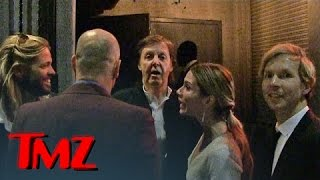 Paul McCartney DENIED at Grammy Party