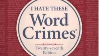 Watch Weird Al Yankovic Word Crimes video